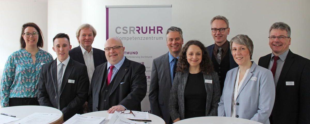 Projektteam CSR-Kompetenzzentrum Ruhr | Bild: Frank Scheele