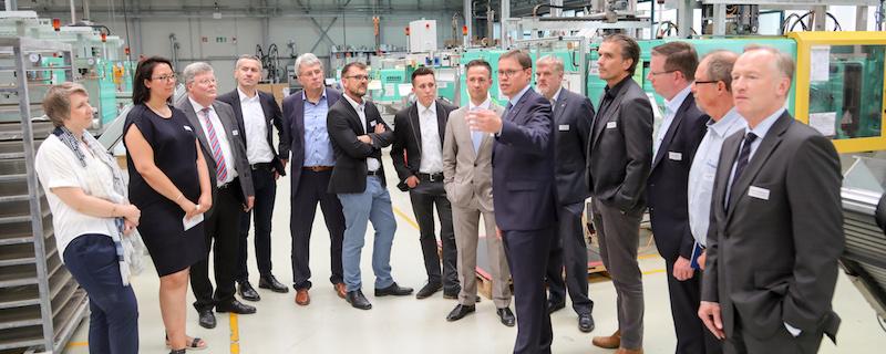 Praxisbesuch bei der BIW Isolierstoffe GmbH in Ennepetal